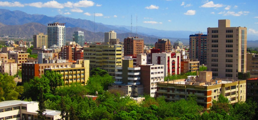 Mendoza Argentina Digital Nomad Outdoor City