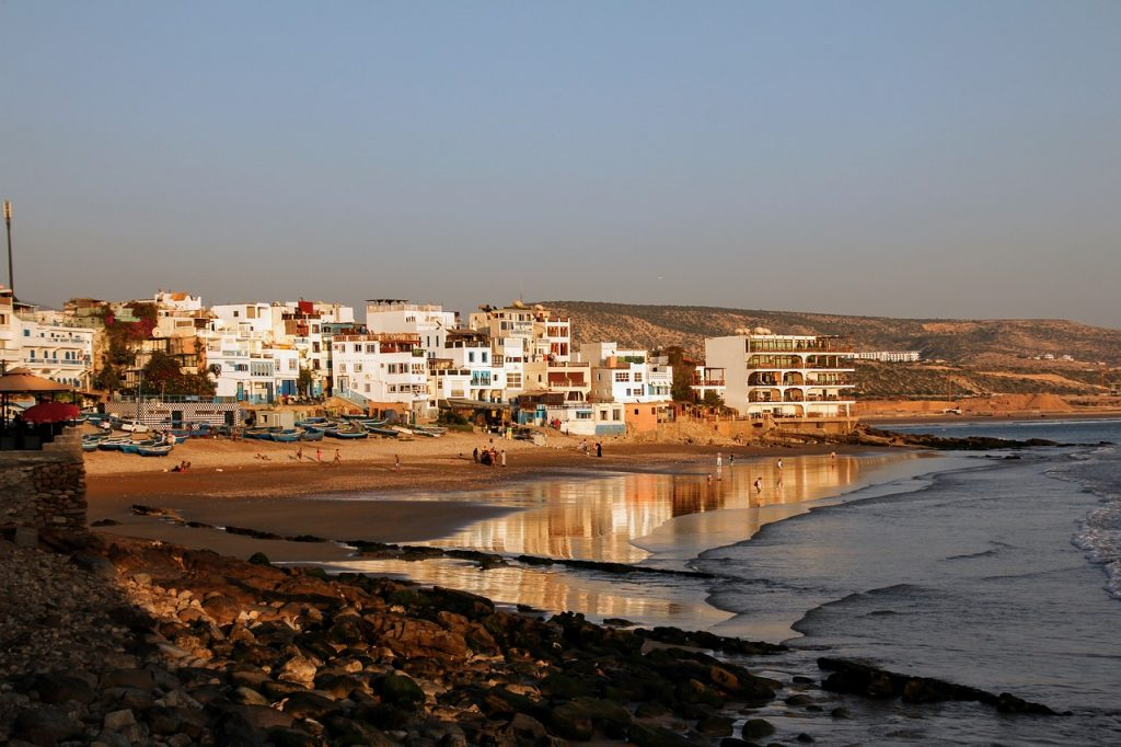 Taghazout Morroco Digital Nomads Beach City