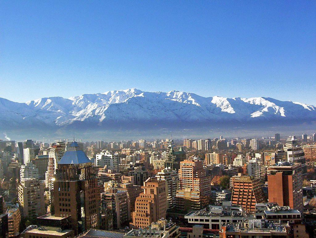 Santiago Chile Digital Nomad Outdoor City