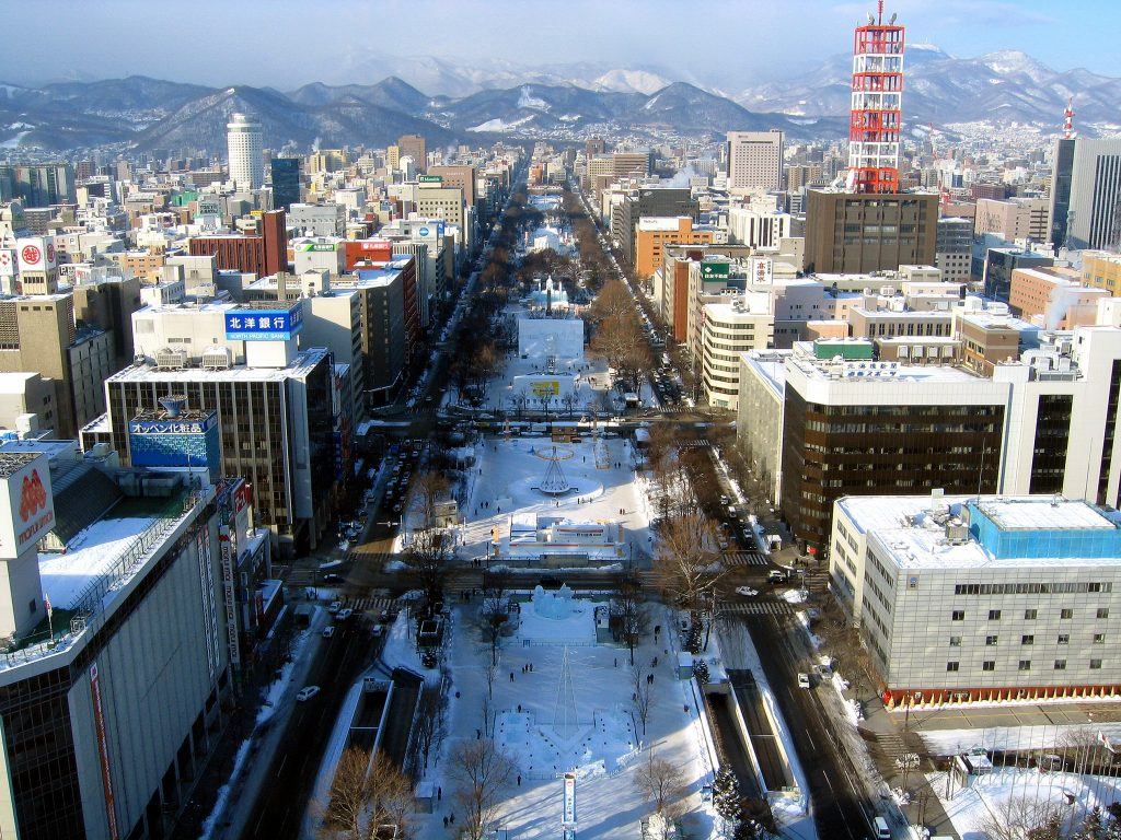 Sapporo Hokkaido Japan Digital Nomad Outdoor City